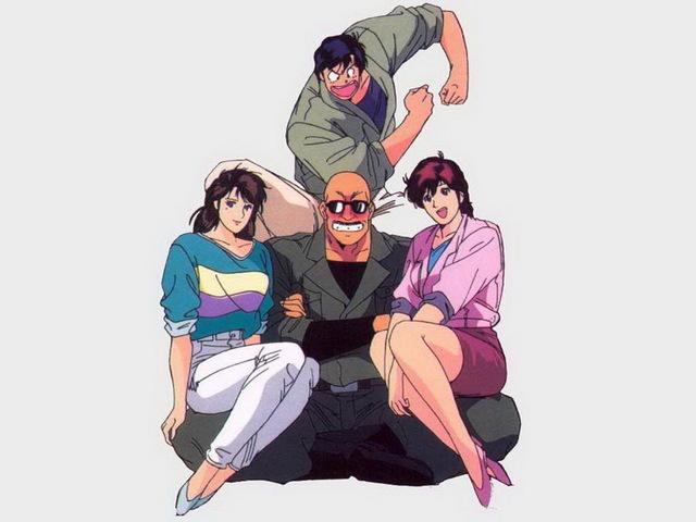 City hunter il tempio dei manga