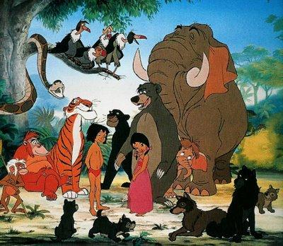 Come disegnare il libro della giungla mowgli e le tigri dagli