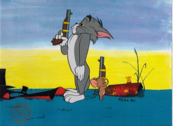 تاریخچه انیمیشن تام و جری  + عکس 1