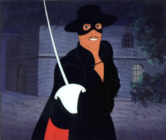 Pin cartoni animati zorro on pinterest